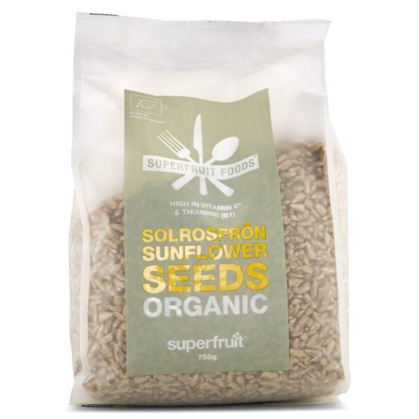 Superfruit Foods Solrosfrön Naturella EKO 750 g