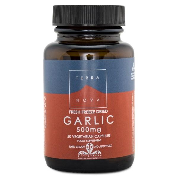 Terranova Garlic 500 mg 50 kaps