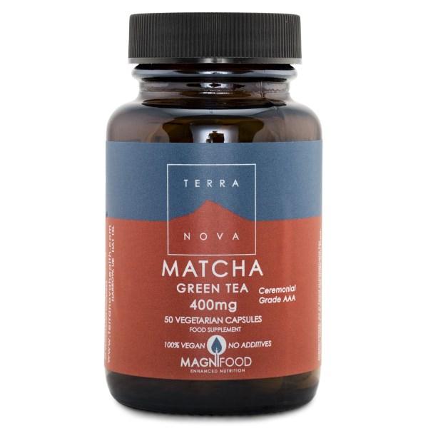 Terranova Matcha Green Tea 50 kaps
