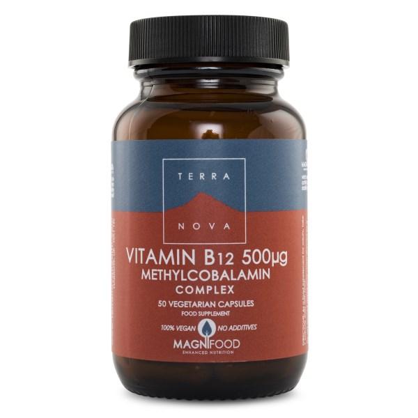 Terranova Vitamin B12 50 kaps