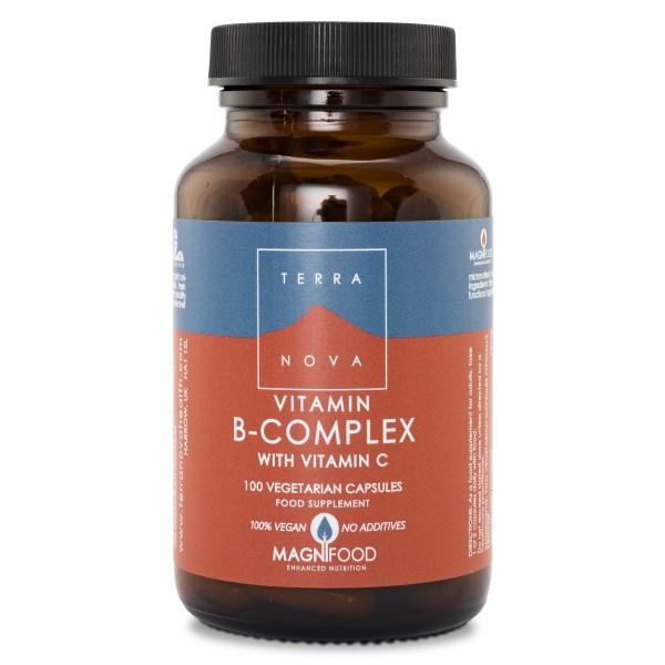 Terranova Vitamin B-Complex 100 kaps