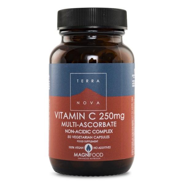 Terranova Vitamin C Multi-Ascorbate 50 kaps