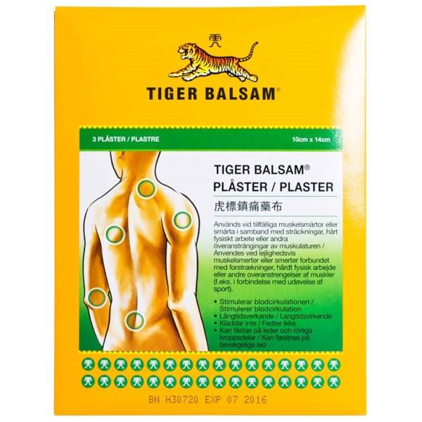 Tiger Balsam Plåster 3-pack