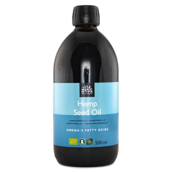 Urtekram Hampafröolja 500 ml