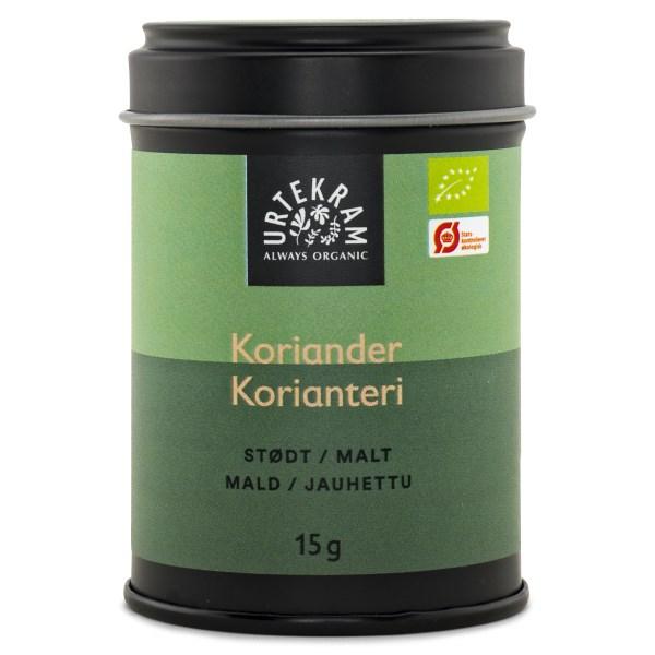 Urtekram Mald Koriander 15 g