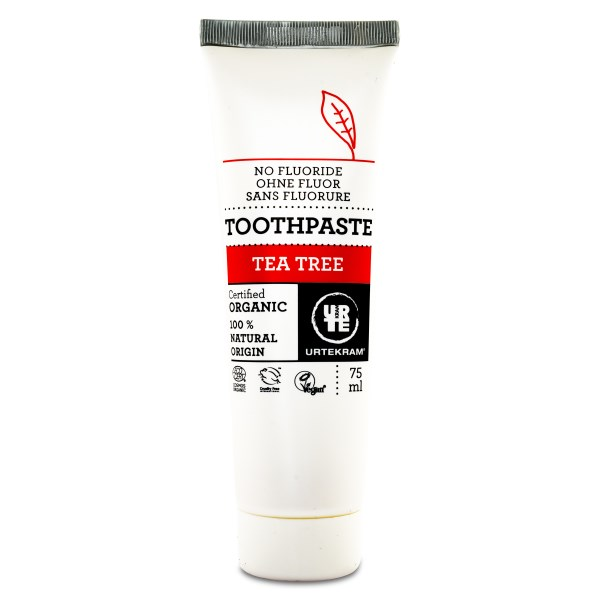 Urtekram Tandkräm 75 ml Tea tree