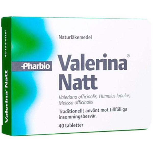 Valerina natt 40 tabl