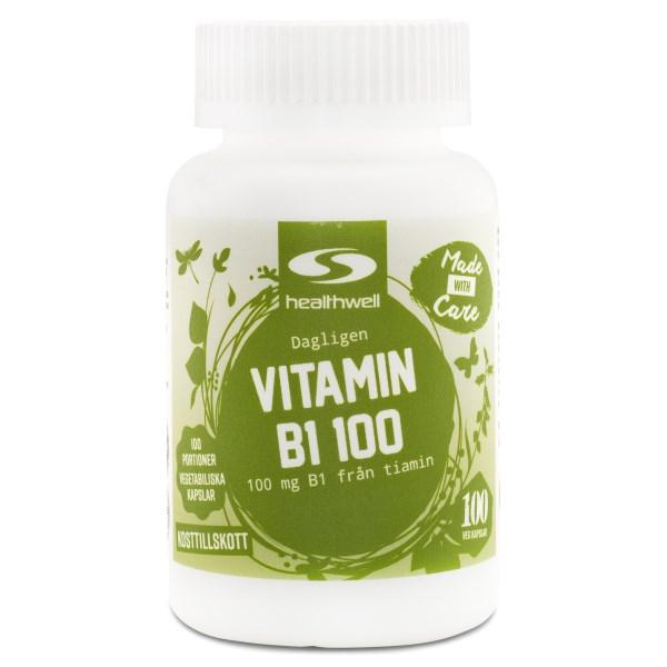 Vitamin B1 100 100 kaps