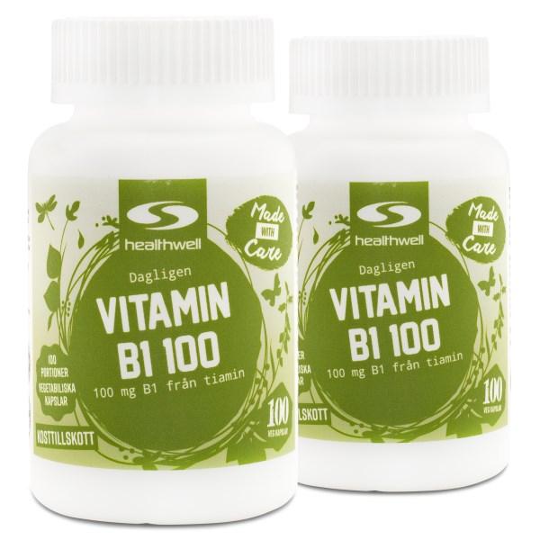 Vitamin B1 100 200 kaps
