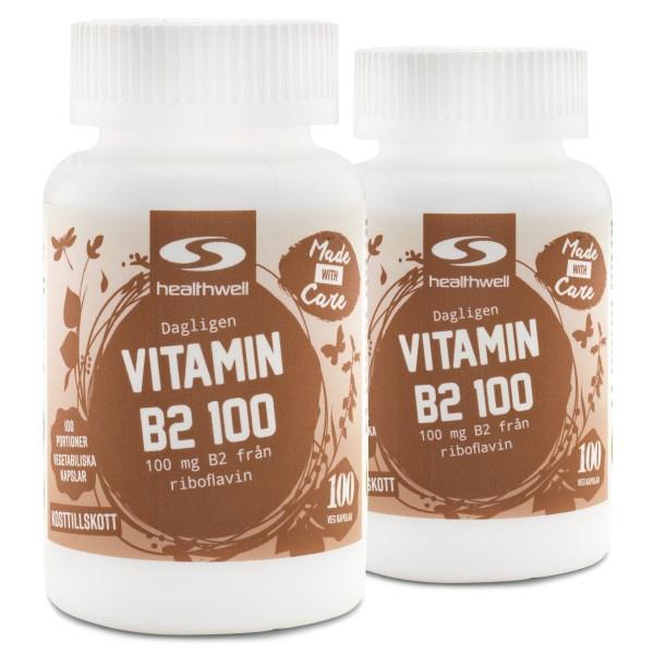 Vitamin B2 100 200 kaps