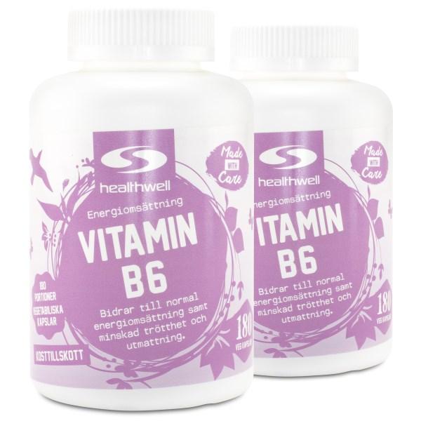Vitamin B6 360 kaps