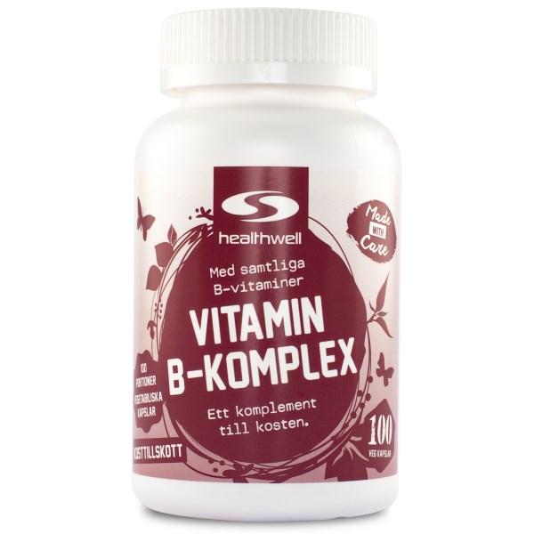 Vitamin B-Komplex 100 kaps