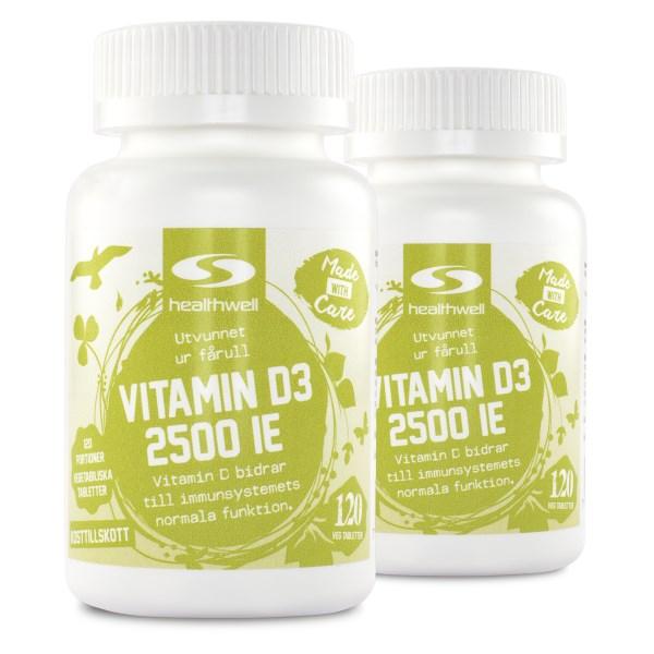Vitamin D3 2500 IE 240 kaps