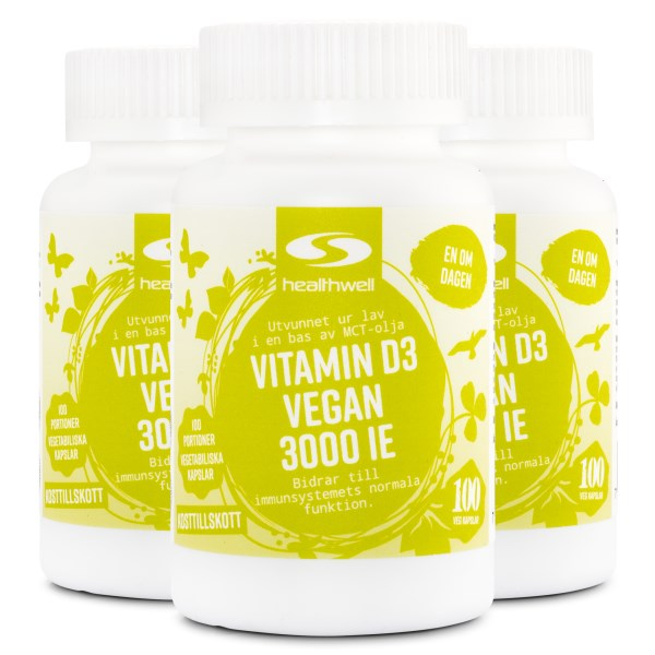 Vitamin D3 Vegan 3000 IE 300 kaps