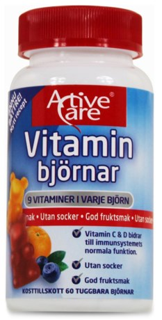 Active Care Vitaminbjörnar