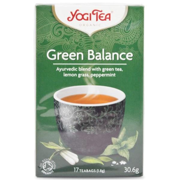 Yogi Tea Green Balance 17 påsar