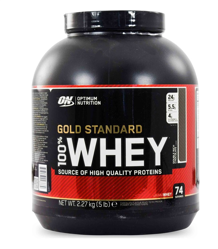 100% Whey Gold Standard, Näringstillskott, protein - Optimum Nutrition