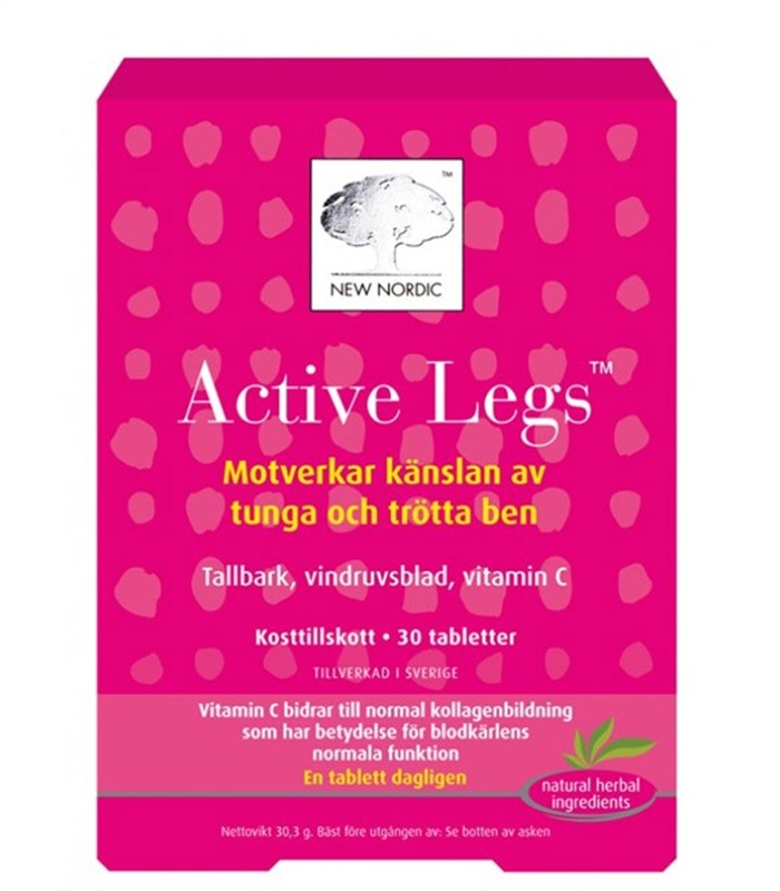 Active Legs, Led- & muskelbesvär - New Nordic