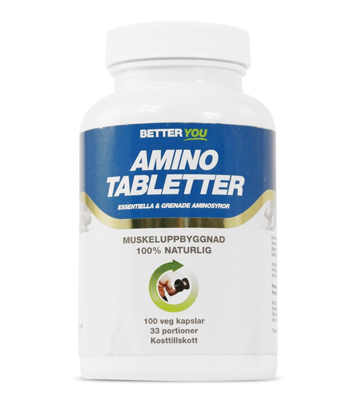 Amino Tabletter, Aminosyror - Better You