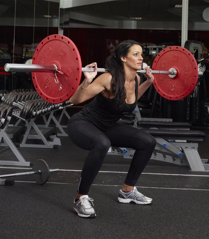 fitness program för tjejer