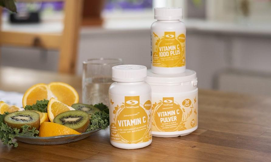överskott av c vitamin