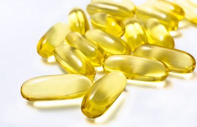 Fiskoljekapslar med omega-3