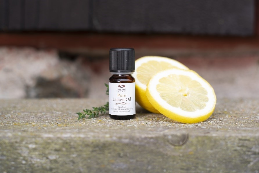 pure lemon oil, citronolja