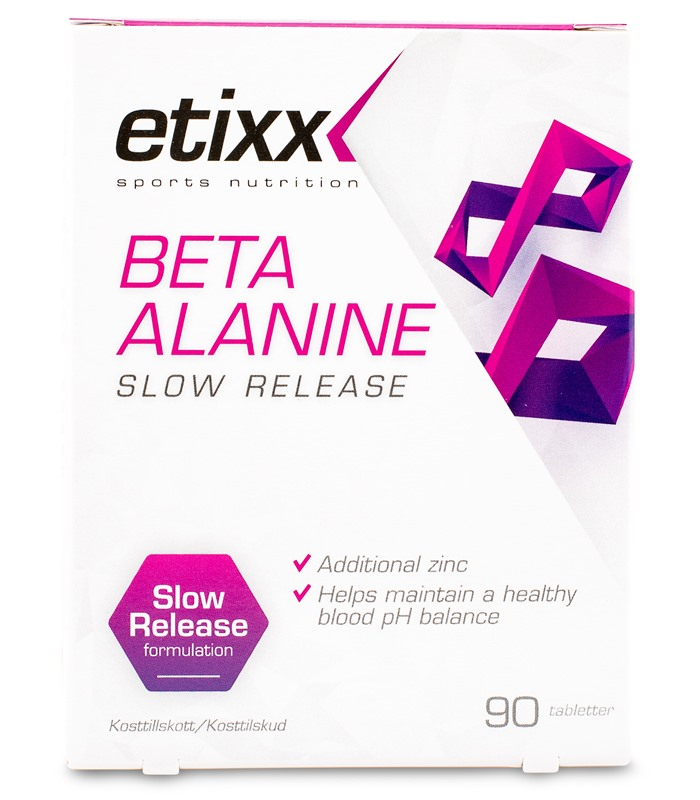 Beta Alanine Slow Release, Sport & Träning - Etixx Sports Nutrition