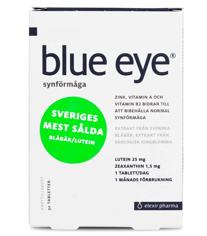 Blue Eye, H�lsa & V�lm�ende - Elexir Pharma