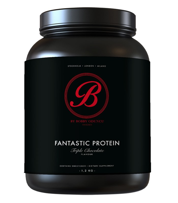 By BOBBY Fantastic Protein, Muskelbyggande & Prestation - Self Omninutrition