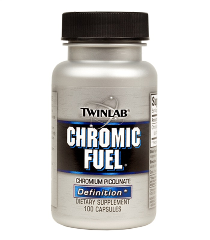 Chromic Fuel, Vitaminer och mineraler - Twinlab