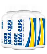 Core BCAA Caps 3-pack