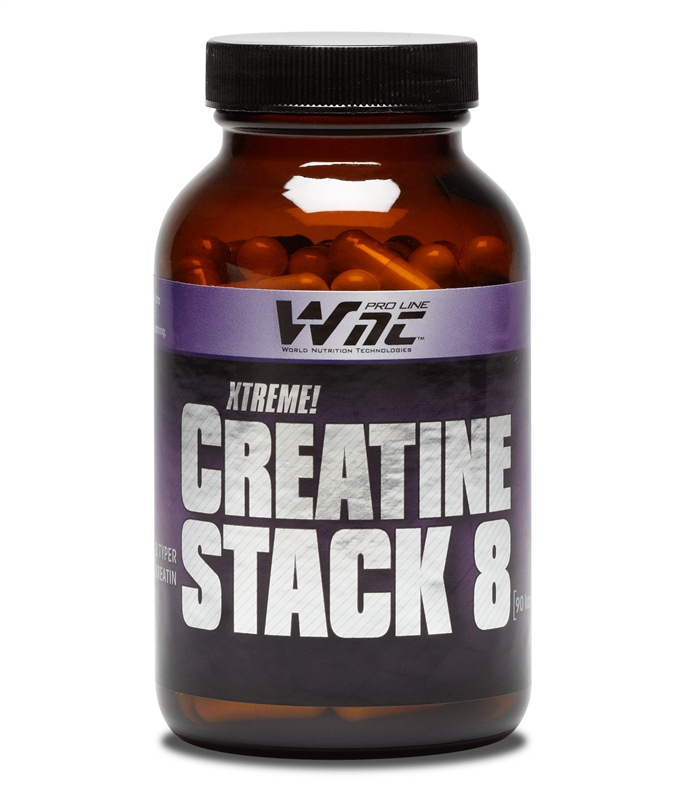 Creatine Stack 8, Prestationshöjande - WNT