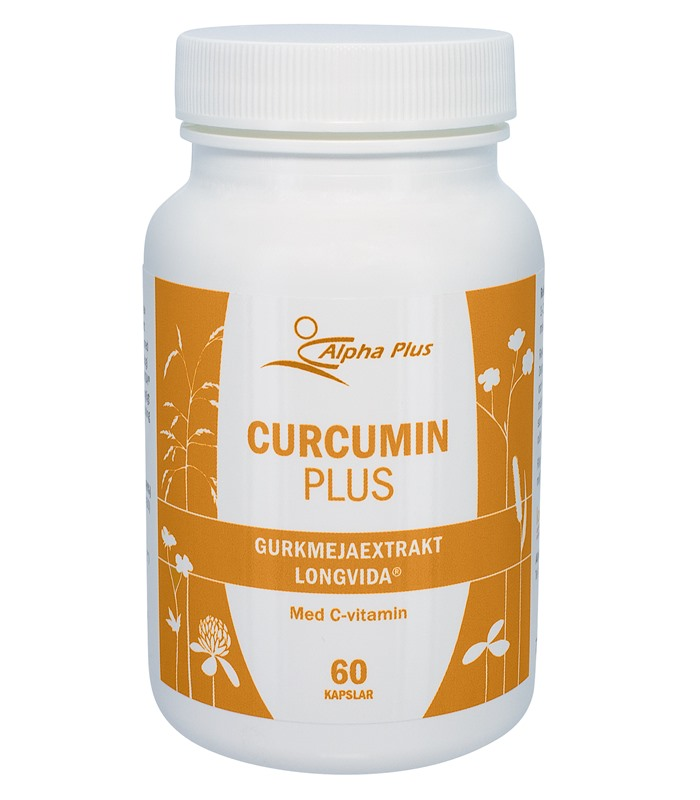 Curcumin Plus, H�lsa & Livsmedel - Alpha Plus
