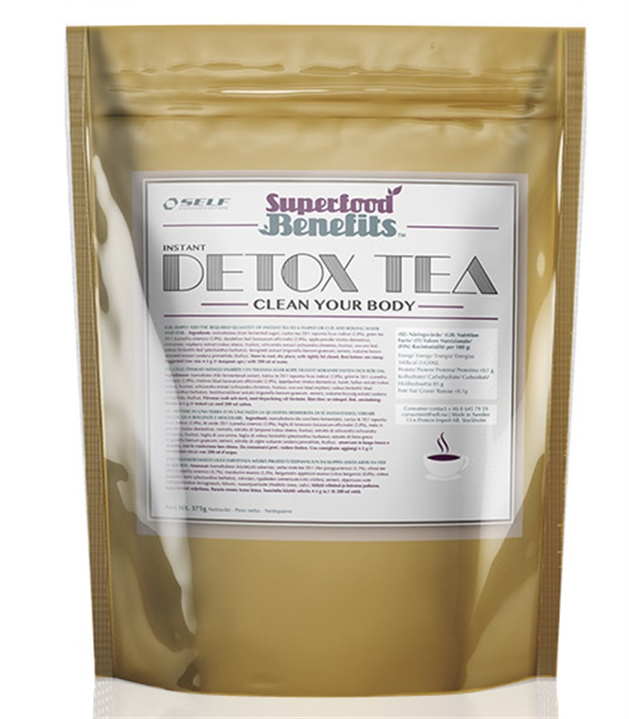 Detox Tea, Livsmedel - Self Omninutrition