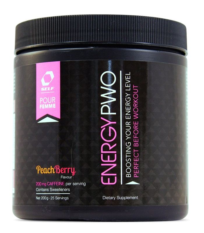 Energy PWO Pour Femme, Sport & träning - Self Omninutrition