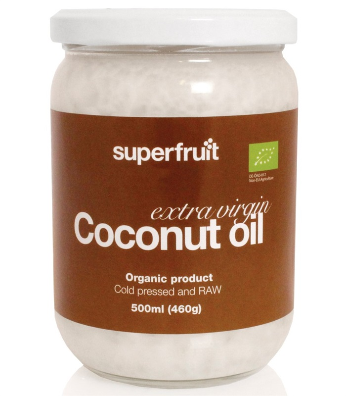 Extra Virgin Coconut Oil, Hälsa & Välmående - Superfruit