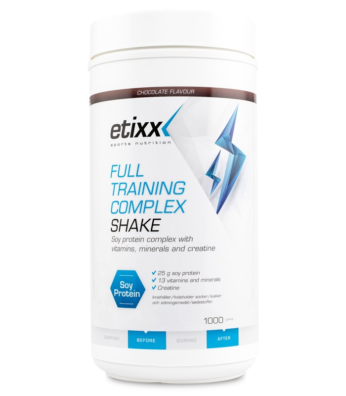 Full Training Complex Shake, Muskelbyggande & Prestation - Etixx Sports Nutrition