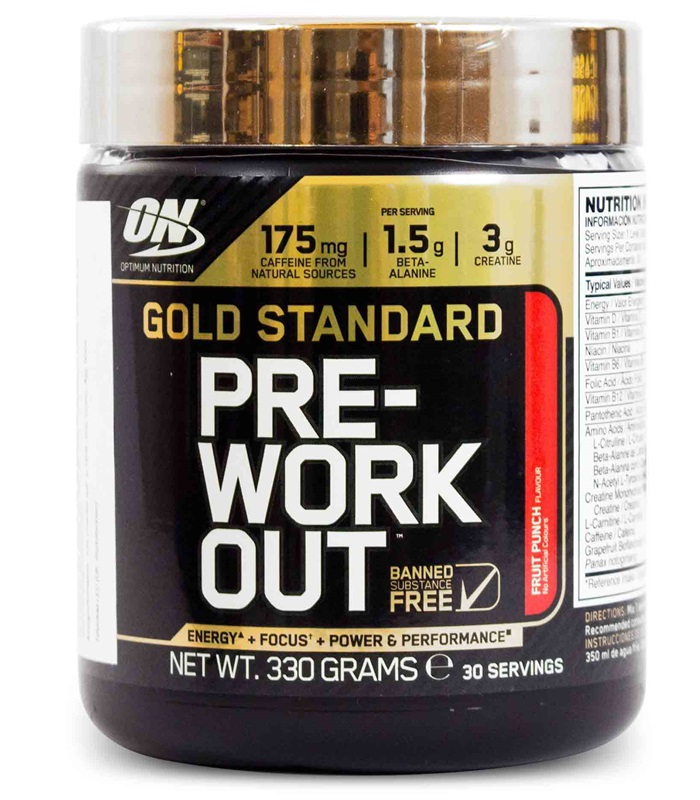 Gold Standard Pre-workout, Sport & Träning - Optimum Nutrition