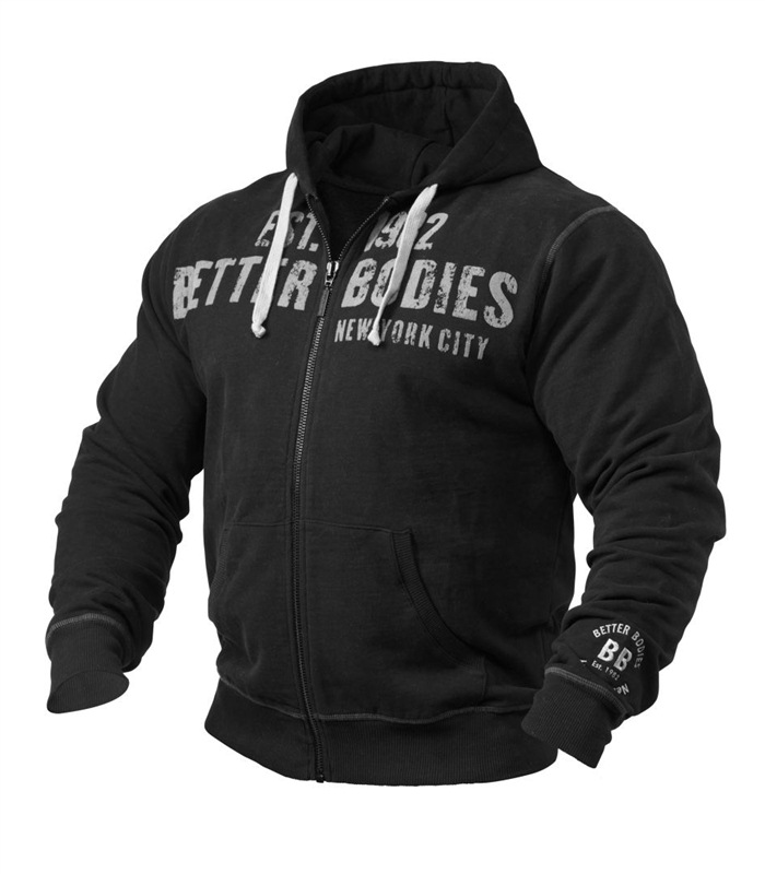 Graphic hoodie, Sport & tr�ning - Better Bodies