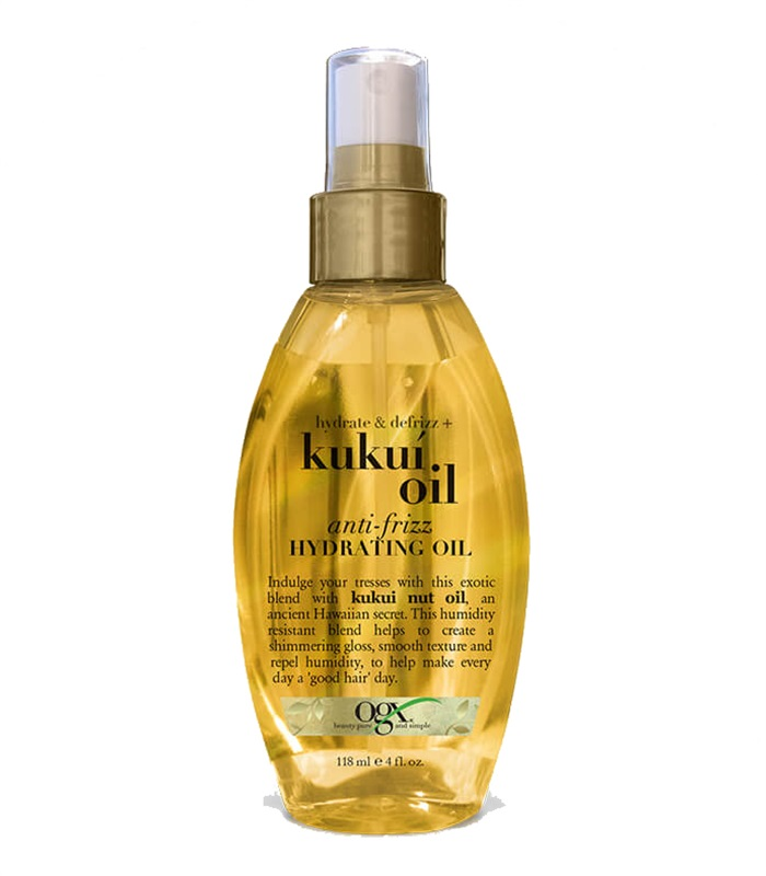 Kukui Oil Anti-Frizz Hydrating Oil, Kroppsvård & Skönhet - OGX