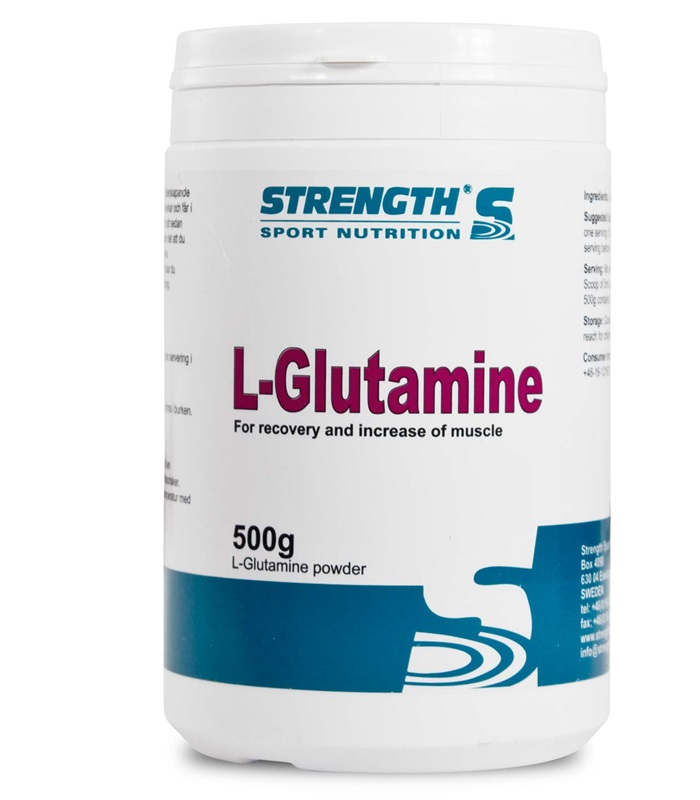 L-Glutamine, Aminosyror - Strength