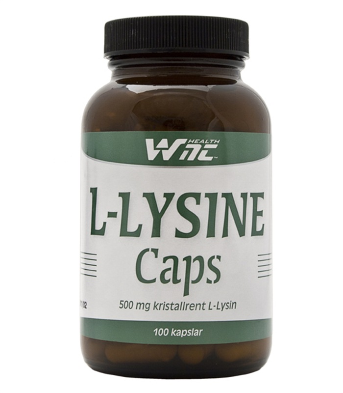 L-Lysine Caps, H�lsokost OLD - WNT