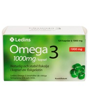 Ledins Omega-3 1000mg 120 kapslar