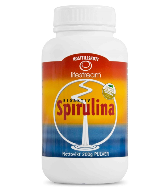 LifeStream Spirulinapulver,  - Nyform