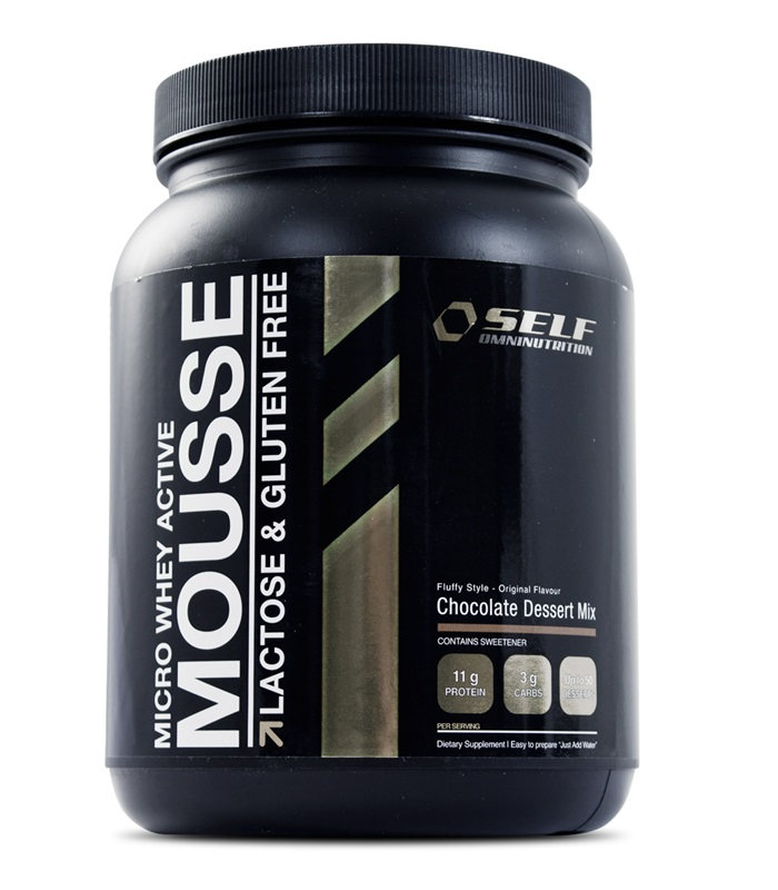 Micro Whey Active Mousse, Muskelbyggande & Prestation - Self Omninutrition