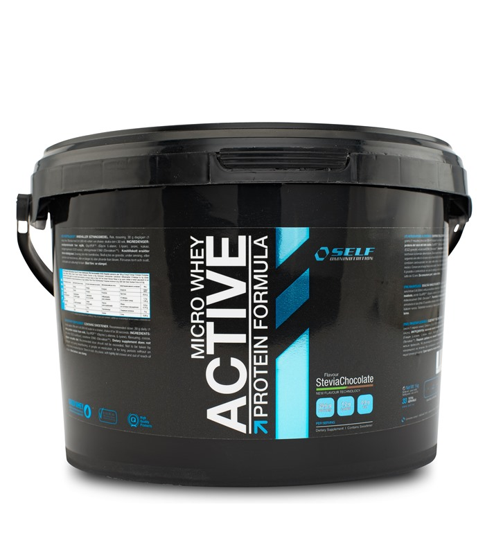 Micro Whey Active Stevia, Sport & träning - Self Omninutrition
