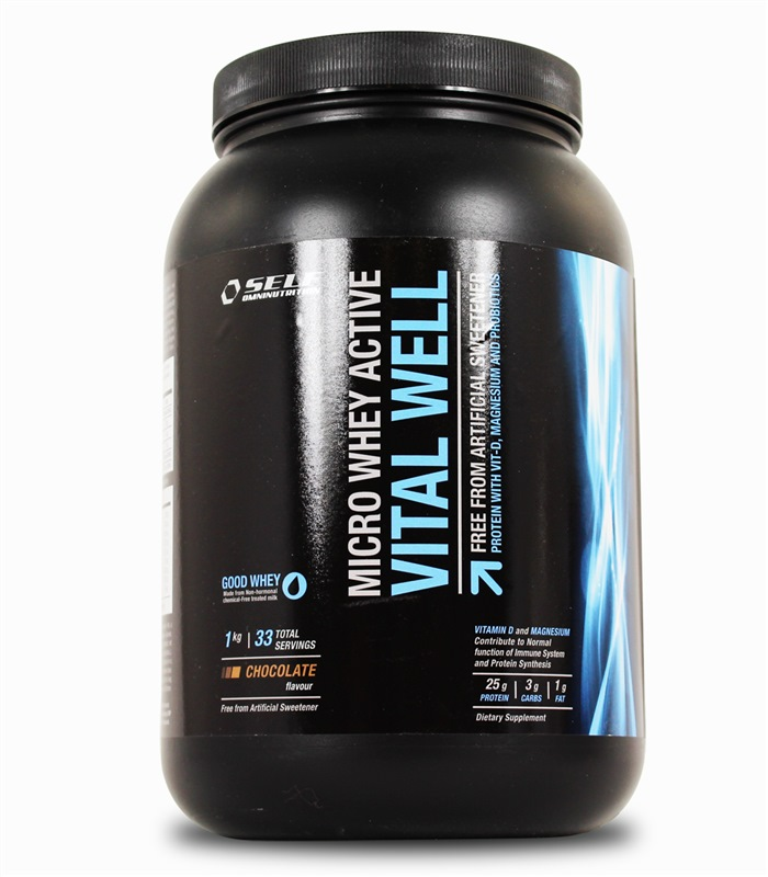 Micro Whey Active Vital Well, N�ringstillskott, protein - Self Omninutrition
