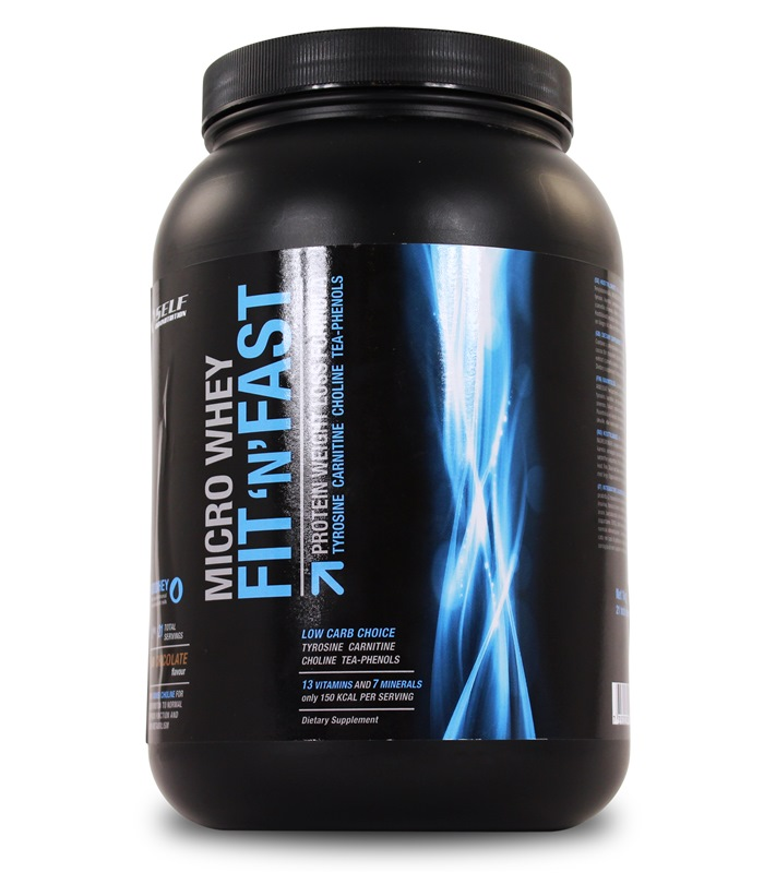 Micro Whey Fit and Fast, Fettf�rbr�nning - Self Omninutrition