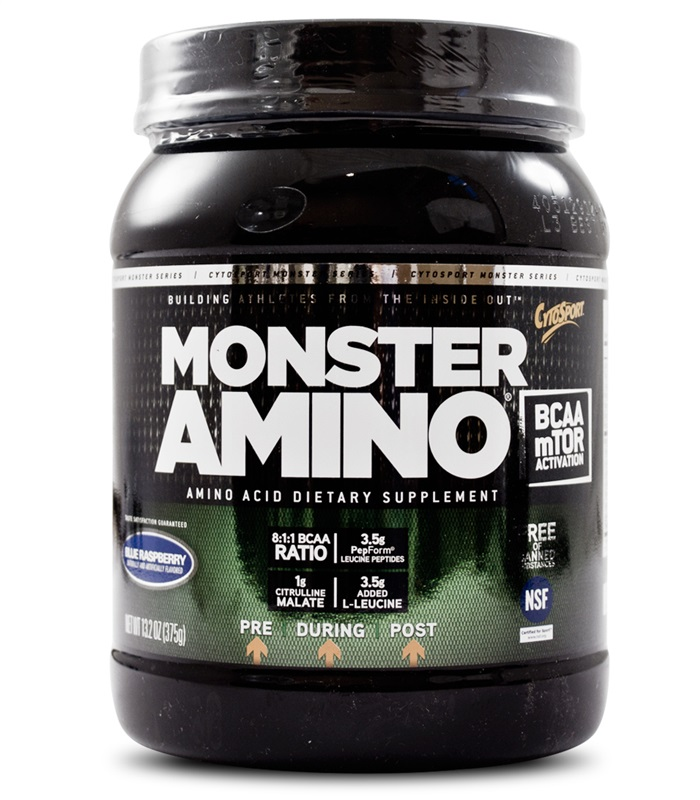 Monster Amino, Muskelbyggande & Prestation - Cytosport